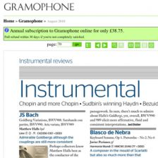 Gramophone launches digital edition