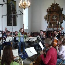 In the folk style: the Trondheim Soloists exploring - and recording