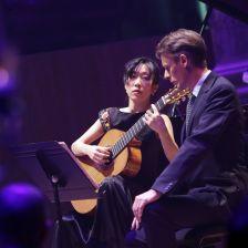 Xuefei Yang and Ian Bostridge perform at the 2013 Gramophone Awards