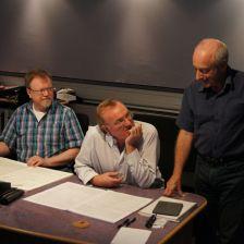 Richard Blackford (composer), Martyn Brabbins (conductor), Adrian Farmer (producer)
