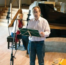 James Gilchrist and Anna Tilbrook record Dichterliebe for Linn Records