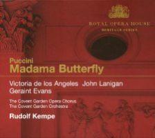 Puccini: Madama Butterfly (Rudolf Kempe, Royal Opera House)
