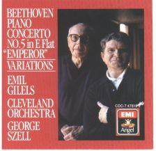 Beethoven Piano Concertos, Emil Giles
