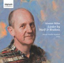 SIGCD369. Alastair Miles: Lieder by Wolf & Brahms