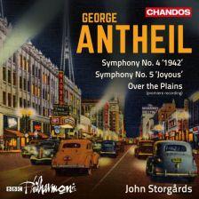 CHAN10941. ANTHEIL Symphonies Nos 4 & 5