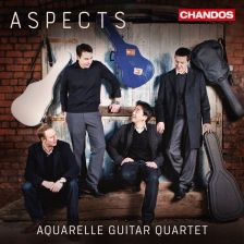 CHAN10928. Aquarelle Guitar Quartet: Aspects