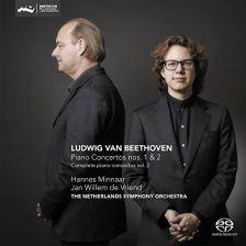 CC72712. BEETHOVEN Piano Concertos Nos 1 & 2