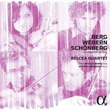 ALPHA209. BERG; SCHOENBERG; WEBERN Chamber Music