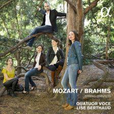 ALPHA214. BRAHMS; MOZART String Quintets