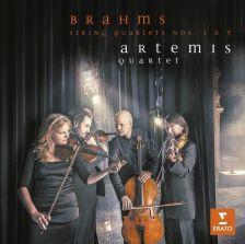 25646 12663. BRAHMS String Quartets Nos 1 & 3