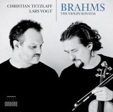 ODE1284-2D. BRAHMS Violin Sonatas Nos 1-3