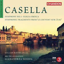 CHAN10880. CASELLA Symphony No 1. Symphonic Fragments