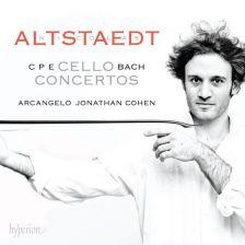 CDA68112. CPE BACH Cello Concertos