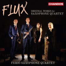 CHAN10987. Flux: Original Works for Saxophone Quartet