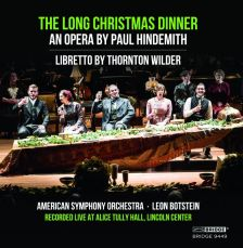 BRIDGE9449. HINDEMITH The Long Christmas Dinner