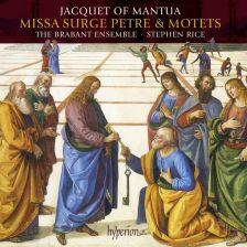 CDA68088. MANTUA Missa Surge Petre. Motets