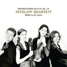 AVI855 3266. MENDELSSOHN Quartet Op 13 BERG Lyric Suite