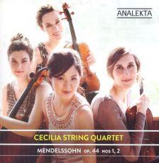 AN2 9844. MENDELSSOHN String Quartets Nos 1 & 2