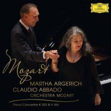 479 1033GH. MOZART Piano Concertos Nos 20 & 25. Martha Argerich
