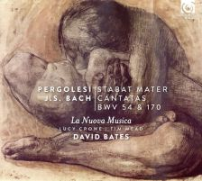 HMM90 7589. PERGOLESI Stabat Mater JS BACH Cantatas Nos 54 & 170