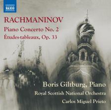8 573629. RACHMANINOV Piano Concerto No 2. Études-tableaux