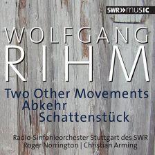 SWR19001CD. RIHM Two Other Movements. Schattenstück