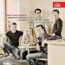 SU4110-2. SCHUBERT String Quintet. String Quartet No 14, 'Death and the Maiden'. Pavel Haas Quartet
