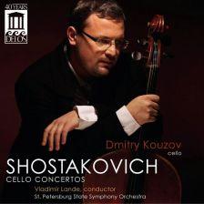 DE3444. SHOSTAKOVICH Cello Concertos