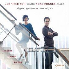 CDR90000 143. JANÁČEK; BARTÓK Sonatas for Violin and Piano. Jennifer Koh
