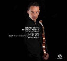 CC72627. BRITTEN. WEINBERG Violin Concertos