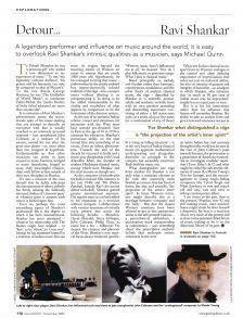 Profile – Ravi Shankar (Gramophone, December 2002)