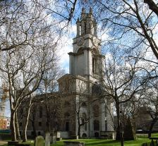 St Anne's in Limehouse (photo Steve Cadman)
