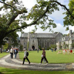 The Summer School's idyllic setting (photo: Kate Mount)