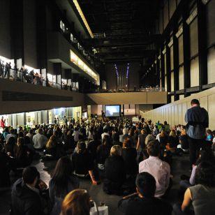 Daniel Barenboim performing at the Tate