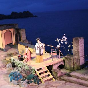 Opera by the sea: Madame Butterfly at the Minack theatre (photo: Antony Craig)