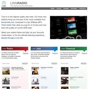 Linn Radio - high-spec 'radio'