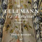 GCD923406. TELEMANN 12 Fantasias for Solo Violin