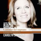 HMM90 2252. JS BACH Cantatas for Soprano