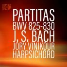 DSL92209. JS BACH Partitas for Harpsichord BWV825-830