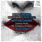 HMC90 2180. BERIO Sinfonia MAHLER 10 Frühe Lieder