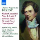 8 573734. BÉRIOT Violin Concertos Nos 4, 6 & 7