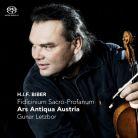 CC72575. BIBER Fidicinium sacro-profanum, Sonatas I-XII. Gunar Letzbor
