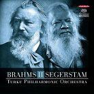 ABCD403. BRAHMS Symphony No 2 SEGERSTAM Symphony No 289