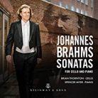 30081. BRAHMS Cello Sonatas
