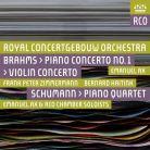 RCO17001. BRAHMS Violin Concerto. Piano Concerto