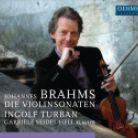 OC1867. BRAHMS Violin Sonatas Nos 1-3