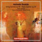 CPO555 022-2. DVOŘÁK String Quintet No 3. Piano Quintet No 2
