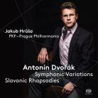 PTC5186 554. DVOŘÁK Symphonic Variations. Slavonic Rhapsodies