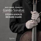 CDA68045. BACH; SCARLATTI; HANDEL Gamba Sonatas
