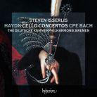 CDA68162. HAYDN; CPE BACH Cello Concertos (Isserlis)
